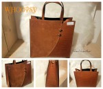 Tas 	Feline ( Real Leather )