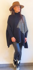 Trui Cape Dani  ( 2 Colors )